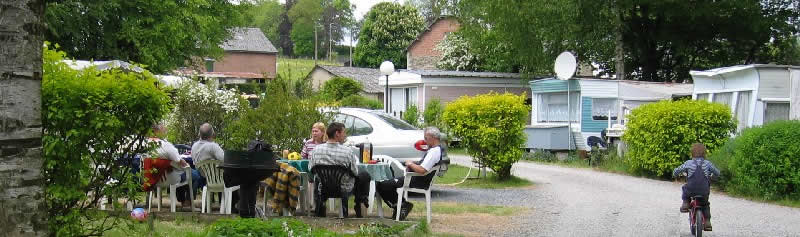 Residentiele camping Ardennen